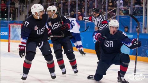 2018 Winter Olympics: U.S. Men Top Slovakia, 2-1