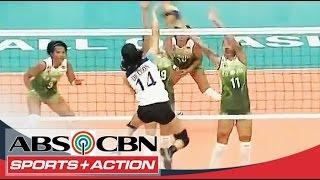 UAAP 77 Women's Volleyball: ADMU Vs DLSU Game Highlights