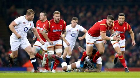 First half highlights: Wales v England | RBS 6 Nations