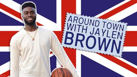 Around Town with Jaylen Brown