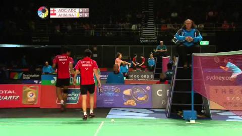 THE STAR Australian Open 2015 | Badminton QF Match 3  - XD