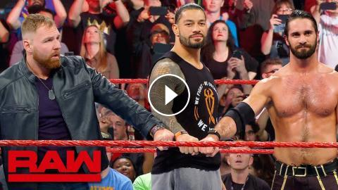 The Shield say goodbye to Dean Ambrose after Raw goes off