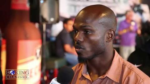 Timothy Bradley ready for Jessie Vargas, he even broke tradition and showered this fight week.