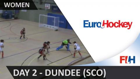 EuroHockey Indoor Club Champions Trophy (Women) - Dundee (SCO) - Day 2
