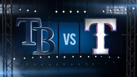 8/16/15: Rangers break out early to down Rays