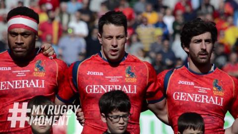 Behind the Scenes with Los Leones   #MyRugbyMoment