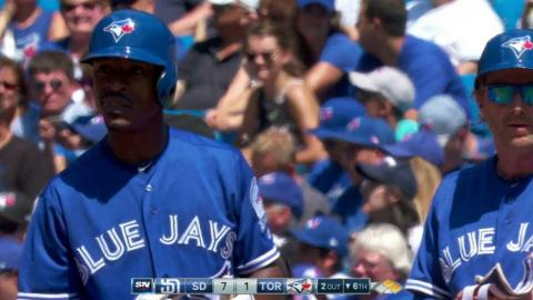 SD@TOR: Upton Jr. gets first hit as a Blue Jay