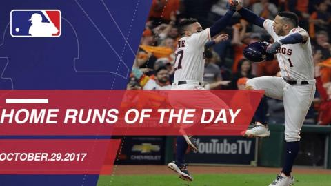 WS Gm5: Gurriel ties game with homer