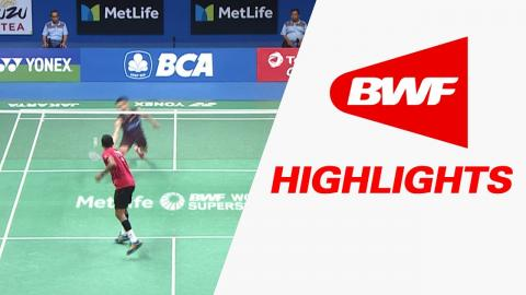BCA Indonesia Open 2017 | Badminton R16 – Highlights