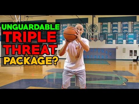 5 Triple Threat Basketball Moves That Will Make You Unguardable!