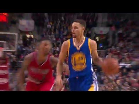 Steph Curry No Look Oop to Bogut!