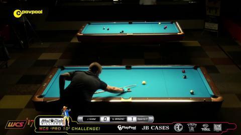 #3 Jayson SHAW vs Gus BRISENO / 2017 Pro 10 Challenge