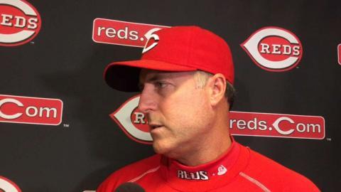 CHC@CIN: Price on tough late inning loss