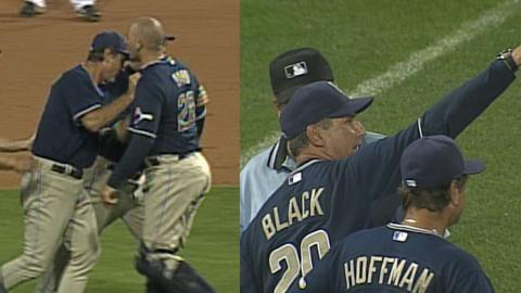 SD@PIT: Black's ejection arguing an overturned call