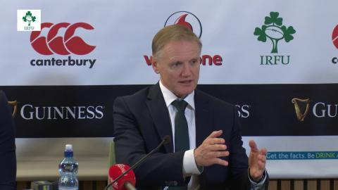 Ireland v Fiji - Post Match Press Conference
