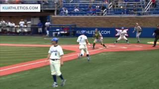 Jayhawks Take Down Baylor In First Of The Series // Kansas Baseball // 5.1.15