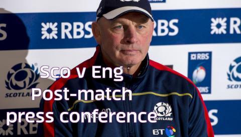 Scotland v England | Post-match press conference