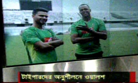 Bangla Cricket News,Courtney Walsh started his Task after joined Bd Cricket Team coaching
