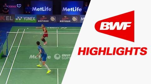 Yonex Denmark Open 2016 | Badminton QF – Highlights
