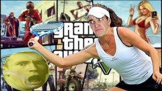 TENNIS MATCH RAGE | GTA V