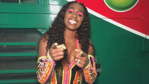 Naomi lights it up at WWE Live Taipei