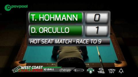 #7 • Thorsten HOHMANN vs Dennis ORCULLO / 2016 WCC 10-BALL