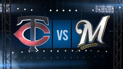 06/26/15: Brewers roll past Twins after six-run 1st