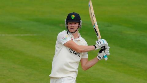 Donald enters record book with rapid double ton, Glamorgan v Derbyshire, Day 1