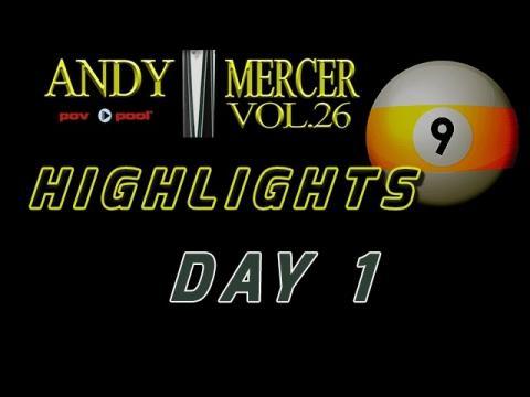 DAY 1 HIGHLIGHTS - 2016 Mercer 9-Ball •