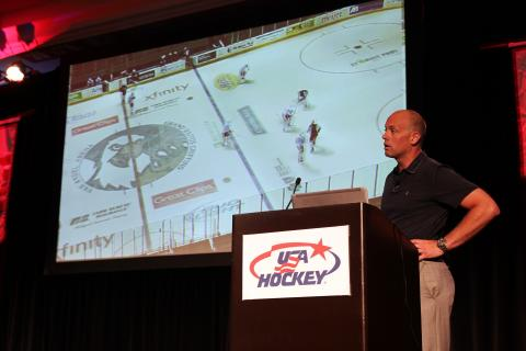 Jeff Blashill Q&A at 2016 USA Hockey National Hockey Coaches Symposium