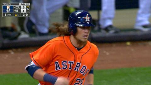 HOU@MIL: Rasmus unloads with a tape-measure home run