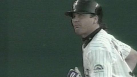 Galarraga and Walker both go deep to tie it