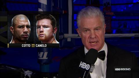Canelo vs. Cotto 2015 -- Full Fight (HBO Boxing)