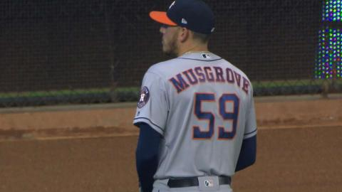 HOU@MIA: Musgrove strikes out five in solid start