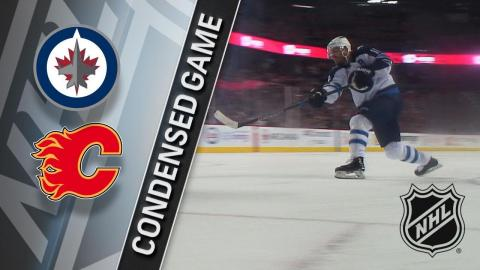 01/20/18 Condensed Game: Jets @ Flames