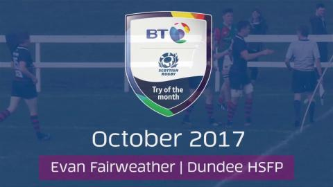 BT Try of the Month - October