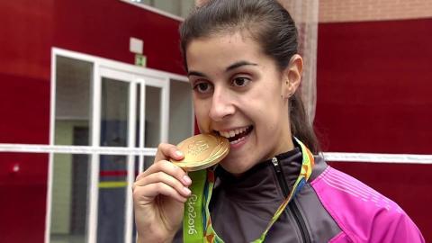 Badminton Unlimited   Carolina Marin