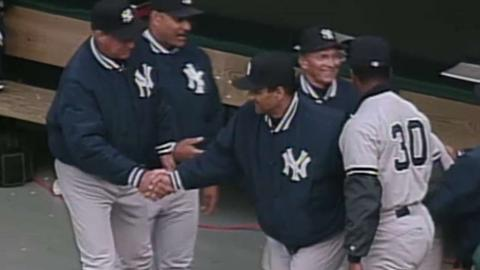 NYY@CLE: Yanks pick up their first win of '96 season