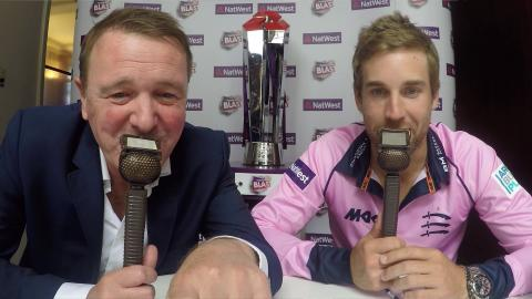 Tufnell & Malan on the best of NatWest T20 Blast 2016