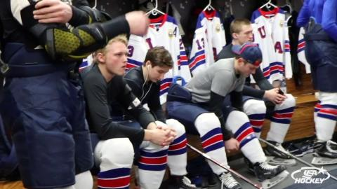 2018 WJC: Postgame Comments - USA 5, FIN 4