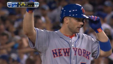 NYM@LAD Gm1: Wright extends lead with two-run single