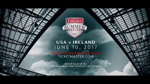 Emirates Airline Summer Series - USA Rugby vs. Ireland, June 10 at Red Bull Arena (15s)