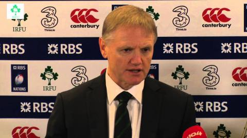Irish Rugby TV: Ireland v Italy Post-Match Press Conference