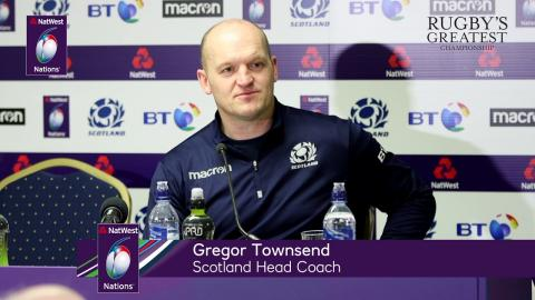 Gregor Townsend after Scotland's win over France | NatWest 6 Nations