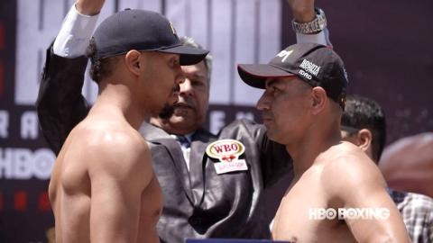 HBO Boxing News: Andre Ward and Alexander Brand Weigh-In