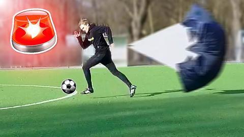 PARACHUTE FOOTBALL CHALLENGE