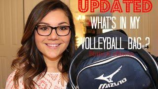 Updated: What's In My Volleyball Bag♡
