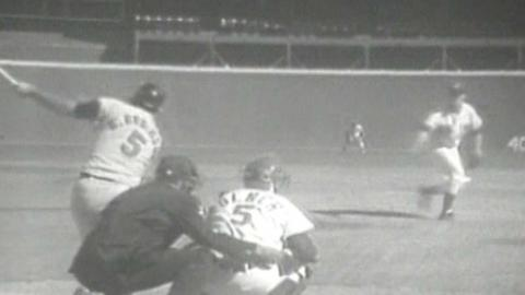 WS1970 Gm1: Robinson hits solo homer to put O's ahead