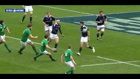 Try A: Stuart Hogg v Ireland | Try of the Championship