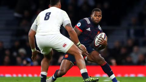 Fantastic handling from Vakatawa ends with French penalty!  | RBS 6 Nations